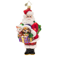 Christopher Radko's Santa's Companions