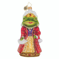 Christopher Radko Frog Princess -front