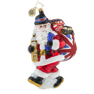 Christopher Radko Father Christmas Does London -front