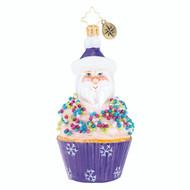 Christopher Radko Cupcake Sprinkle Kringle