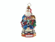 Christopher Radko Soda Shop Surprise - 2018 A Christmas to Remember - Ornament of the Month Collection