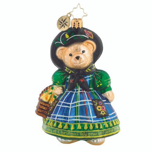 Christopher Radko Little Peddler Muffy