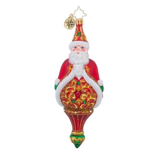 Christopher Radko Adorned Gentlemen - Santa
