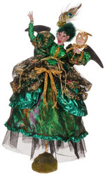 Mark Roberts Masquerade Ball Glamourous Witch - small