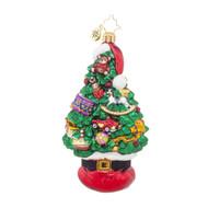 Santa Tree Stack