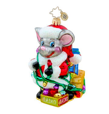 Christopher Radko's Tangled Tidings  Mouse
