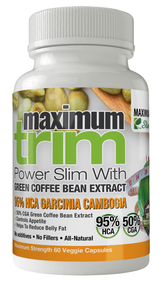 Max Trim: Garcinia Cambogia + Green Coffee Bean Extract