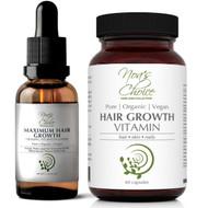 Noa's Choice Organic AYURVEDIC Hair Growth & Strengthening Combo Kit