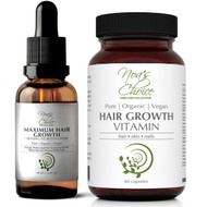 Noa's Choice Organic AYURVEDIC Hair Growth & Strengthening Combo Kit