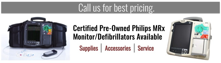 Certified Pre-owned, refurbished AEDs & monitors