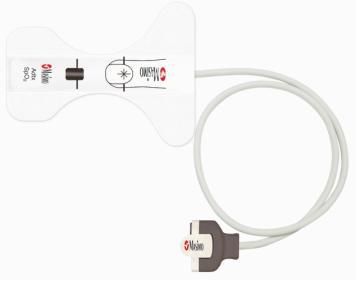 Physio-Control LIFEPAK® 15 M-LNCS Disposable Adhesive SpO2 Sensor, 20/box