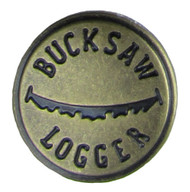 Welch Suspender Bucksaw Logger Button Pack of 8 Buttons
