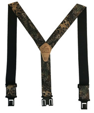 Perry Men's Big & Tall Elastic Hook End Realtree XTRA Camouflage Suspenders