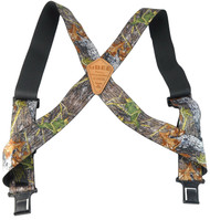 Perry Men's Big & Tall Elastic Hook End Camouflage uBEE Outback Suspenders