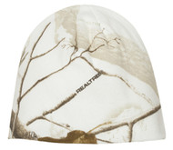 Realtree 8 Inch Knit Outdoor Camouflage Beanie White Camo Cap