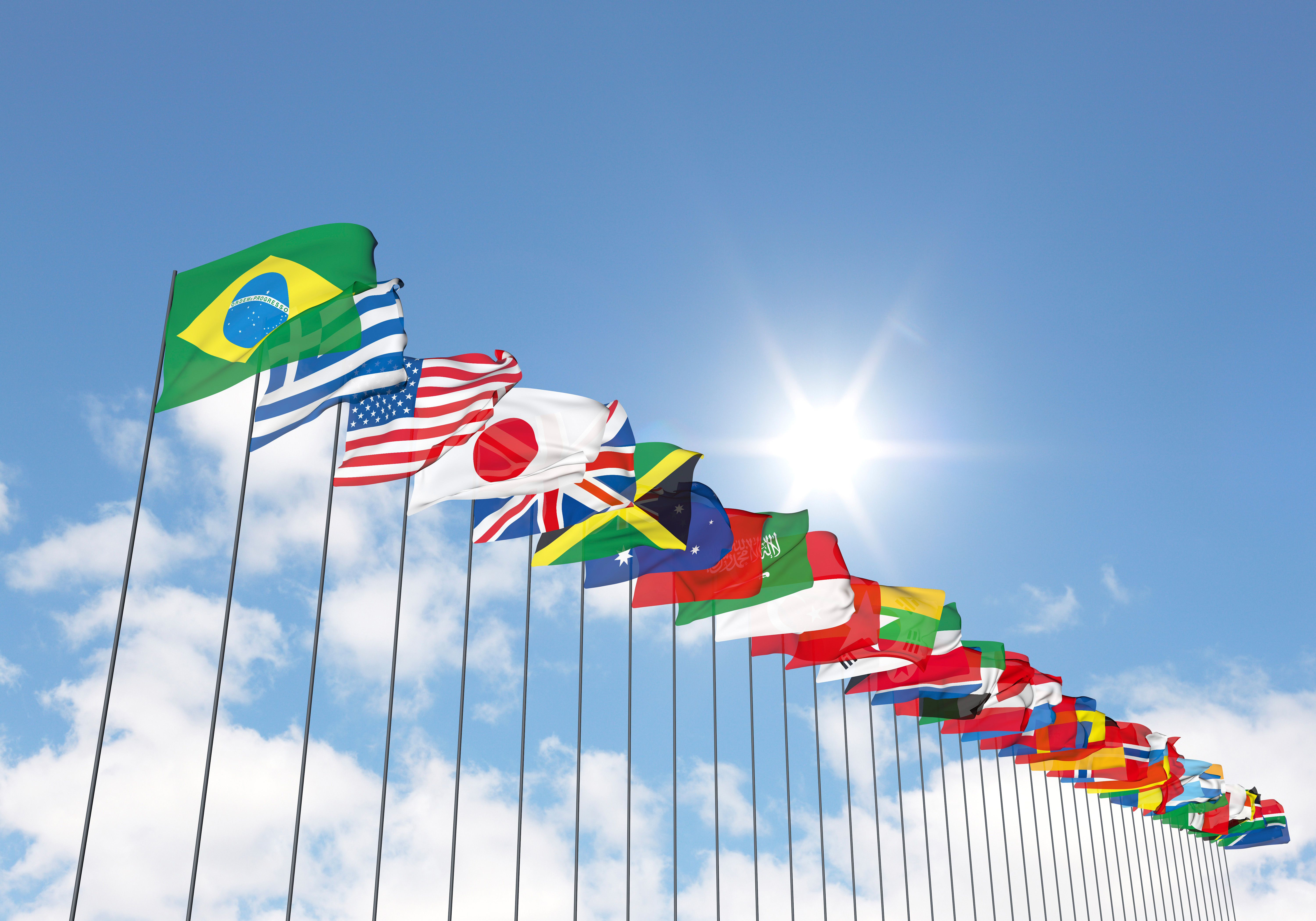 Flags of countries at 2021 Tokyo Olympics