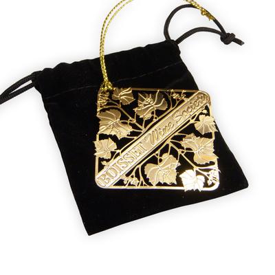 Etched Brass Ornament (No Color)