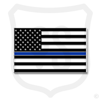 American Support Flag - Police