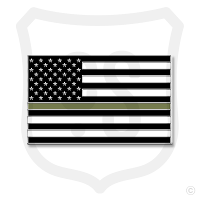 American Support Flag - Military