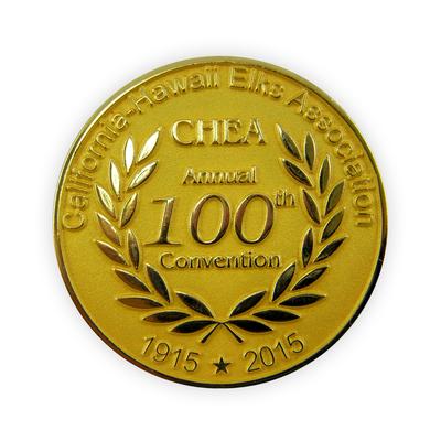 Die Struck Iron - All Metal Challenge Coin