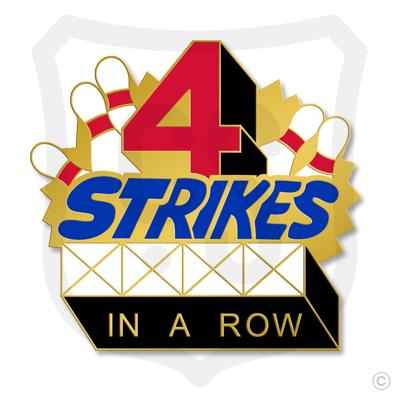 4 Strikes in a Row