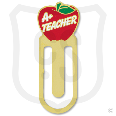 A+ Teacher - Apple (Bookmark)