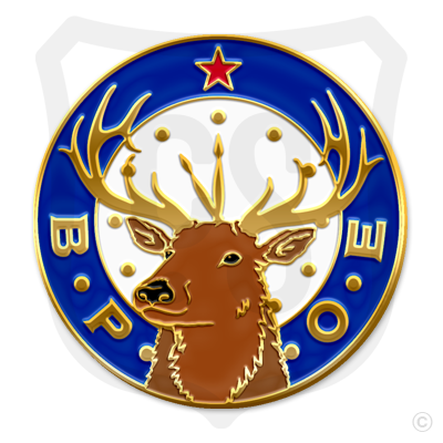Elks Clock Logo