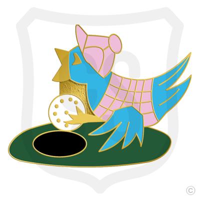Golf Birdie with Hat & Vest