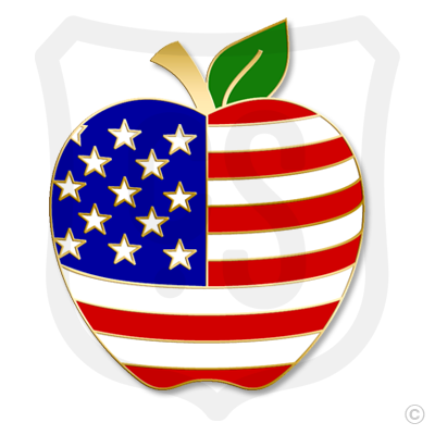 Patriotic Apple