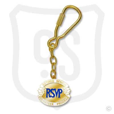 RSVP Keychain