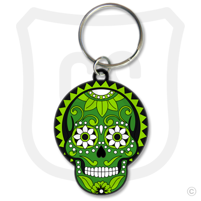 Sugar Skull (Day of the Dead) Green