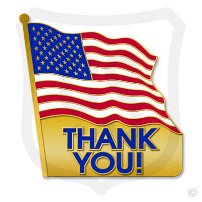Thank You! (American Flag)