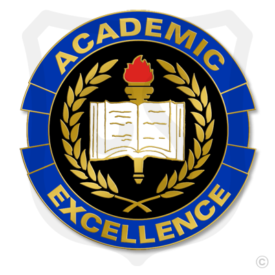 Academic Excellence - Laurel Leaves