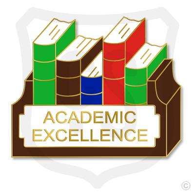 Academic Excellence w/ Bookshelf
