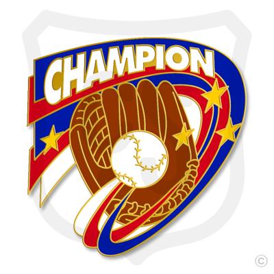 Championship Glove & Baseball
