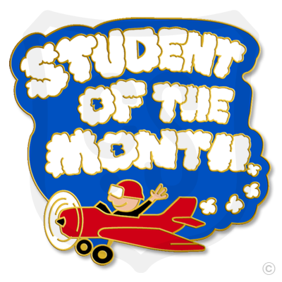 Student of the Month (Sky Writer)