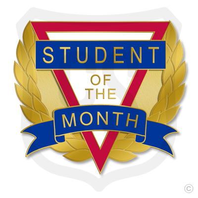 Student of the Month (Laurel Leaves)