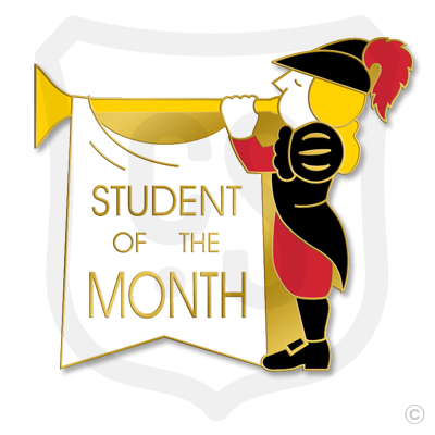 Student of the Month (w/ Horn)