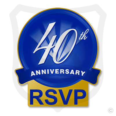 40th Anniversary RSVP (printed)