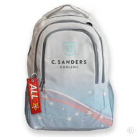 ALL STAR Bag Tag on Backpack