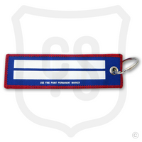 Back of Team Player Bag Tag