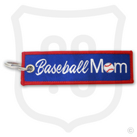 Baseball Mom Bag Tag