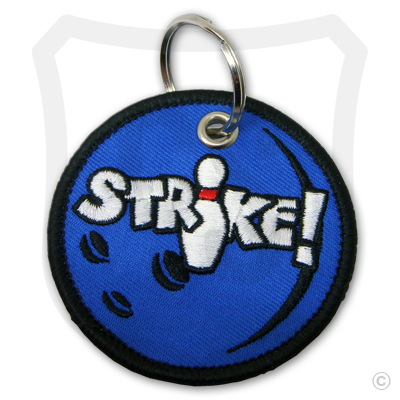 Embroidered Bowling Ball w/ STRIKE!