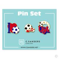 Soccer Pin Set 1
