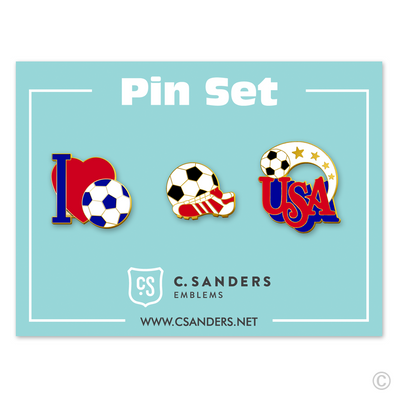 Soccer Pin Set 1
