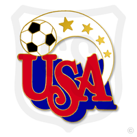 """Item #257 Soccer USA Size: 1"""""""