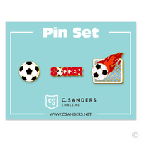 Soccer Pin Set 2