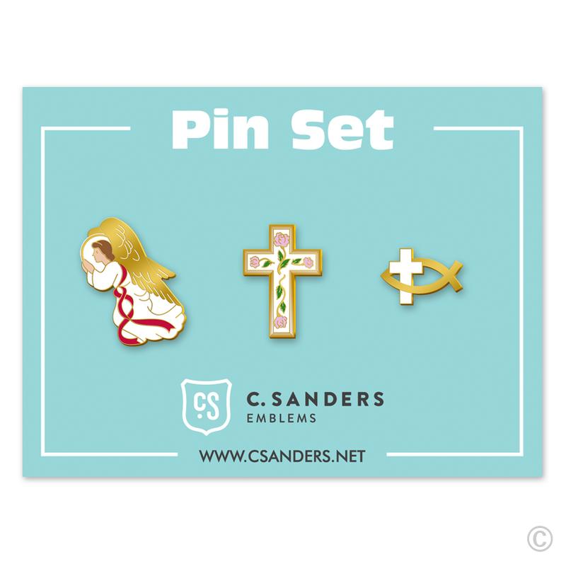 Religious Pin Set 2