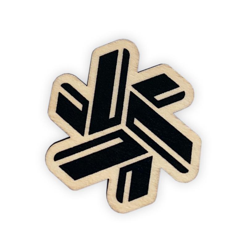 Composite Wood Printed Logo