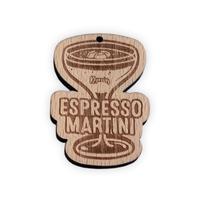 Solid Wood Engraved Logo